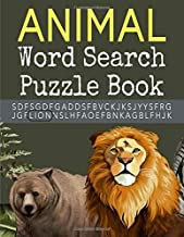 Animal Word Search Puzzle Book: Large Print Puzzle Word Search For Adults