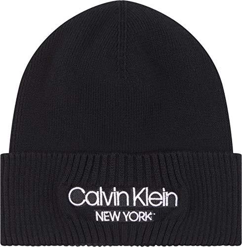Calvin Klein Herren Beanie Baseballkappe, Ck Schwarz, Einheitsgröße
