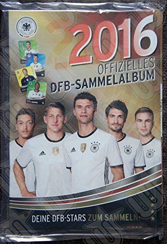 WIZUALS SAMMELALBUM Album DFB Sammelkarte EM 2016 REWE Neu & OVP incl Sticker