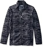 Columbia Boys' Little Zing III Fleece, Black Camo Plaid, X-Small