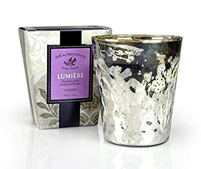 Pre De Provence Lavender Lumiere Fragrant Candle ...