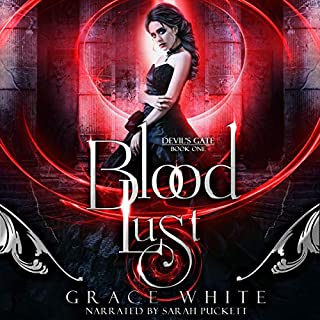Blood Lust: A Reverse Harem Paranormal Romance audiobook cover art