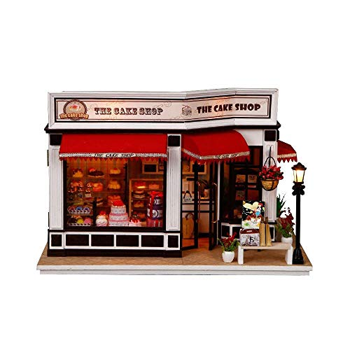 Dingziyue - Casa para tartas hecha a mano, modelo de cabina, para regalo de niña