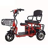*YHXJ Escúters discapacitats, discapacitat *Outdoor Recorregut Escúter, Assegurança i Resistent, fàcil d'Usar, Apte per a Persones Majors i discapacitades -*30km
