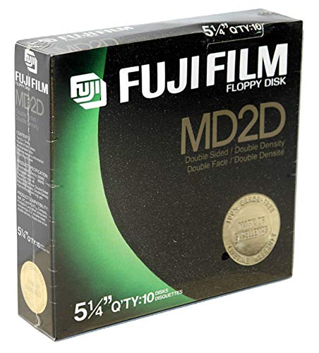 Fuji Film Floppy Disk 10 1 Pack Md2hd