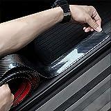 ドアガード プロテクターモール カーボンモールゴム トリムモール ユニバーサル トランク 耐水性 リップモール バンパーガード ブラック アンダー スポイラー 5CM*3M