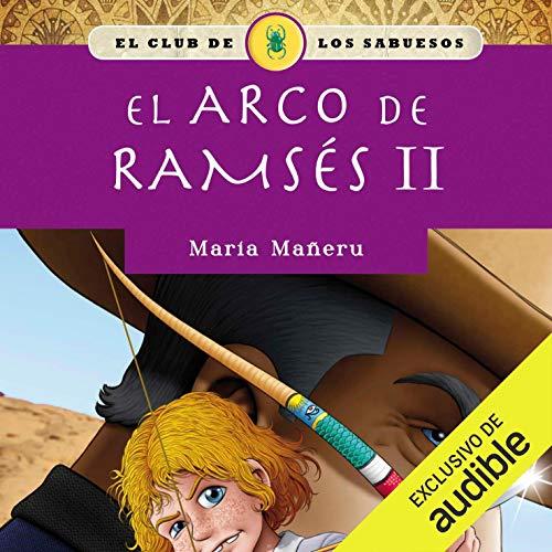 Diseño de la portada del título El arco de Ramsés II
