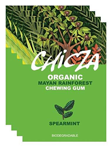 10er Pack CHICZA® Bio-Kaugummi Spearmint, 10x30 g