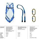 Wolfpack 15030060 Arnes Anticaidas Kit Seguridad Nº 1 (4 piezas) EN361