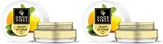 Good Vibes Lip Scrub - Lemon (8 g) - (Pack of 2)