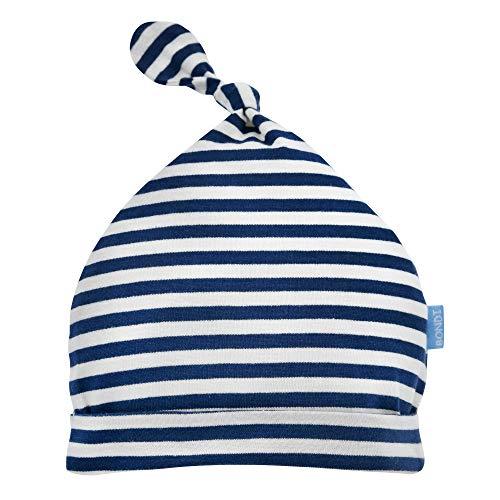 BONDI Mütze, stripe navy/offwhite 47 Hallo Baby Boy Artikel-Nr.93508