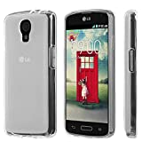 PimpCase Compatible with LG Volt LS740 Case, Clear Crystal Thin Slim Soft TPU Protective Cover with Transparent Bumper Gel CasePimpCase Compatible with LG Volt LS740 - Frosted Clear