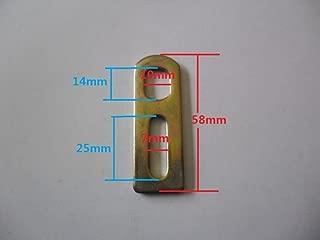 8fun Electric bike torque arm Axle Φ14mm lock spacer M14 X10 X3mm lock washer