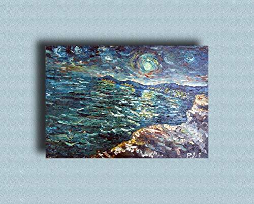 Pinturas al óleo de Arte Moderno Arte de Lienzo de Pared Pintura al óleo sobre...