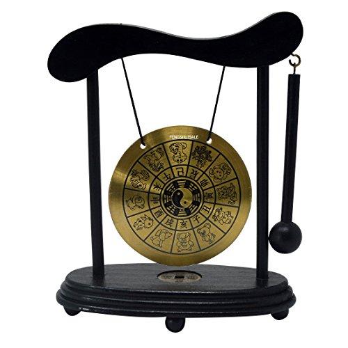 Zen Art Brass Feng Shui Desktop Zodiac Gong W Fengshuisale Red String Bracelet W3359