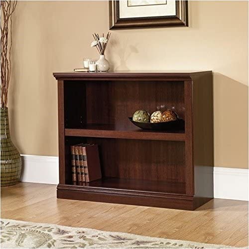 Pemberly Row 2 Shelf Bookcase TV Console Baltimore Mall Storage Stand Wood National products Easy