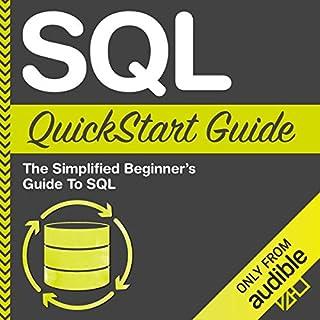 SQL QuickStart Guide audiobook cover art