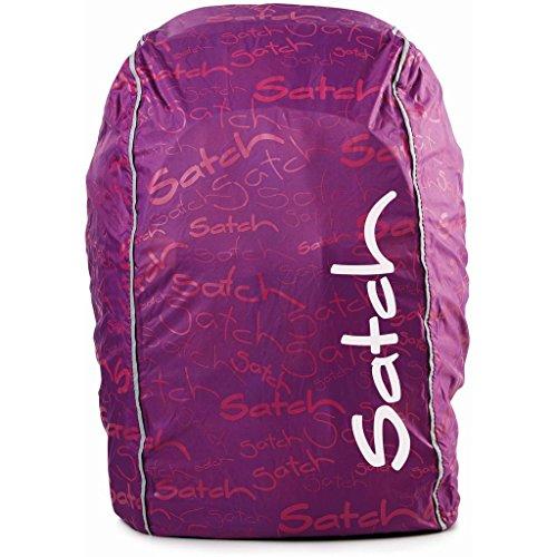 Satch pack copertura antipiaggia per zaino scuola lila