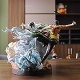 Liiokiy Anime Figure One Piece Zoro Tiger Hunting Zoro Roronoa Zoro Figura de acción Modelo Hecho A ...