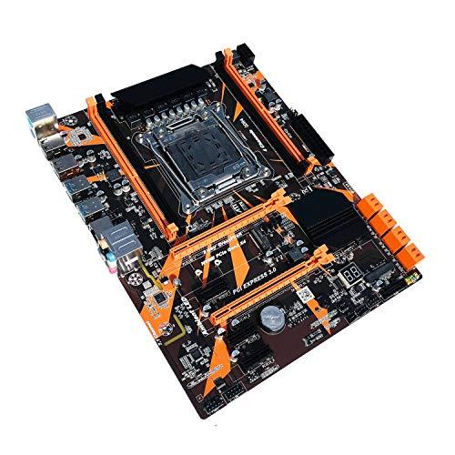 Baalaa Placa base X99 LGA2011-3 DDR4 soporta M.2 soporta memoria 4X32G para LGA 2011-V3 Xeon Series