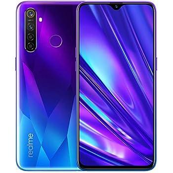 realme 5 Pro Smartphone Móvil, 4 GB RAM 128 GB ROM 6.3 Snapdragon 712AIE Octa Core 48MP AI Quad Camera 4035mAh, Dual Sim, Versión Europea (Azul): Amazon.es: Electrónica