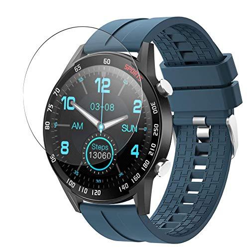 Vaxson 3-Pack TPU Pellicola Protettiva, compatibile con YoYoFit SW212 smart watch, Screen Protector Film [Non Vetro Temperato Cover Case ]