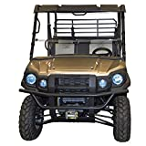 Kawasaki Mule Windshield - Pro FX, FXT /DX, DXT (Does not fit the FXR) Full Folding - SCRATCH RESISTANT - The Ultimate in SXS Versatility! Premium poly w/ Hard Coat. Made in America!