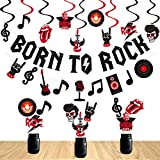 Rock and Roll Party Decorations Set Born to...