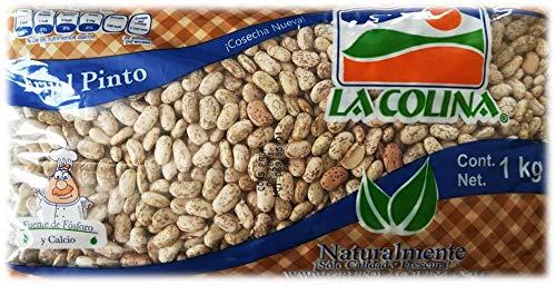 Wachtelbohnen (Pinto 1kg) | Der authentische Geschmack Mexikos | Glutenfrei | Ohne Konservierungsstoffe | Vegane Hülsenfrüchte