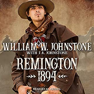 Remington 1894 audiobook cover art