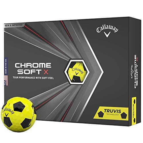 2020 Callaway Chrome Soft X Golf Balls (Truvis...