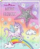 Freundebuch – Einhorn-Paradies – Meine Freunde: mit Wendepailletten-Patch