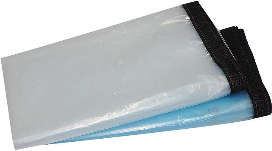 Hou Hexin Trade ZQG Auvent de Prougeection Floral Pliable Transparent antipluie de Pluie avec Le polyéthylène de Trou en métal