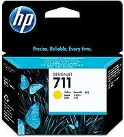 HP HEWCZ132A 711 Yellow Ink Cartridge Yellow 【Creative Arts】 [並行輸入品]