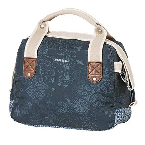 Basil Unisex– Erwachsene Boheme City Bag Lenkertasche, Blau, One Size