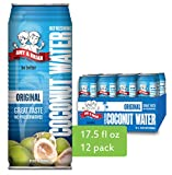 Best Coconut Waters - Amy & Brian Non-GMO Coconut Water, Original, 17.5 Review