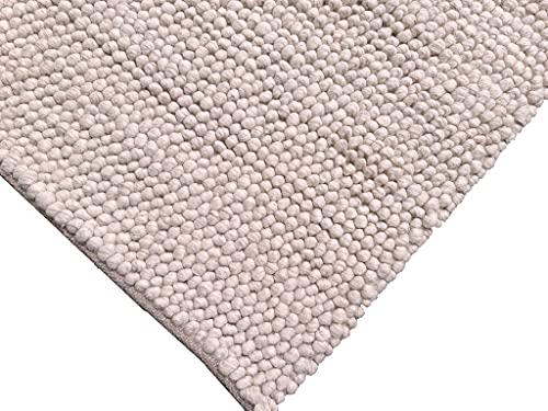 Flycarpets Ventura Bolletjes Cream Handgemaakt Vloerkleed