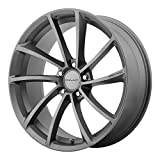 KMC Wheels KM691 Spin Gun Metal Wheel (20x8.5'/5x114.3mm, +35mm offset)