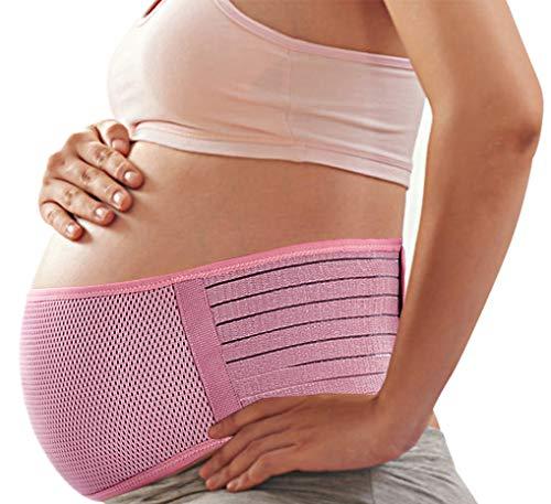 SIYWINA Cinturón de Maternidad Apoyo Durante el Embarazo Banda para Abdomen Faja de premamá, XL