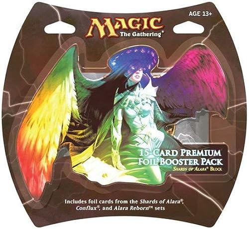 1 Pack of Magic the Gathering  MTG Shards of Alara Premium Foil Booster Pack (15 Foil Cards)