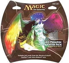 1 Pack of Magic the Gathering: MTG Shards of Alara Premium Foil Booster Pack (15 Foil Cards)