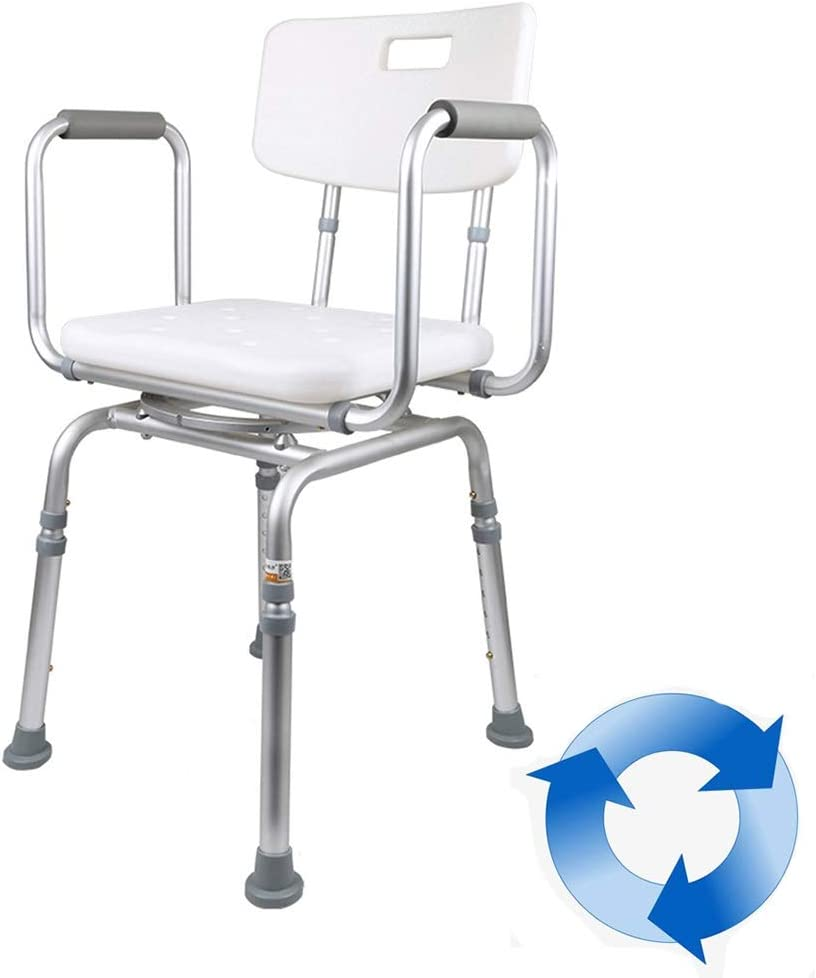 OUUCL Rotate Shower Stool Bench 6-Spe Seat 55% OFF -Non-Slip Bath Chair overseas