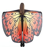 Alas De Mariposa Chal Mariposa Mujer Accesorio Traje Nymph Pixie Cosplay Partido (A - 3)