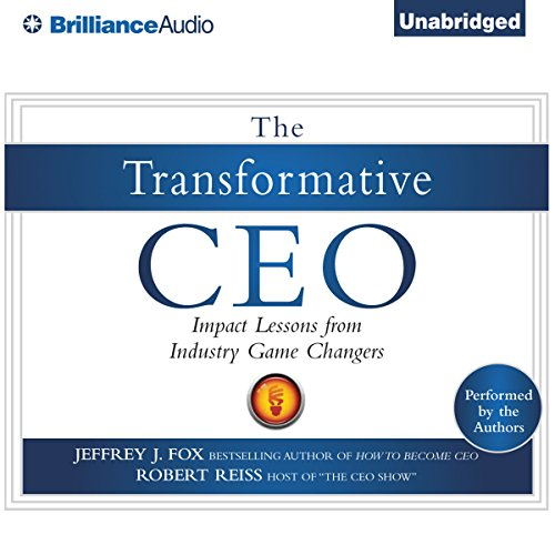 The Transformative CEO audiobook cover art