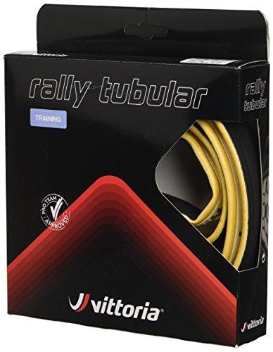 Vittoria Rally - Tubolare per Gomma, 23-28 Pollici, Colore Nero/Tan