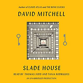 Slade House audiobook cover art