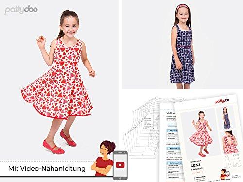 pattydoo Schnittmuster Kinderkleid 'Leni'