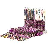 編み機 本針 羊毛, スカーフニットホビーツールキットウールヤーン子供教育玩具クラフト針仕事ギフト