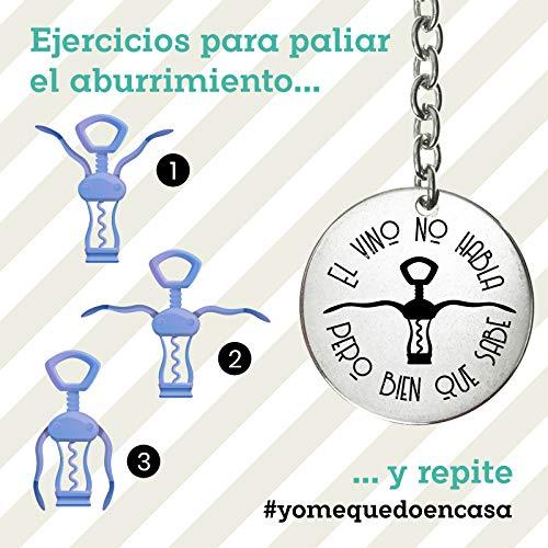 #YoMeQuedoEnCasa Llavero regalo para personas divertidas confinadas en casa