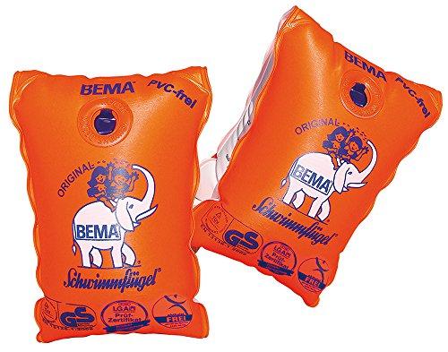 Bema 18021 Schwimmfluegel WFF,orange, Größe 0, 14,5x19,5 cm Höchstgewicht: 30 Kg